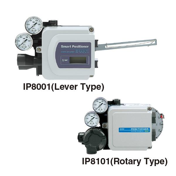 Electro-Pneumatic Positioner IP8□00/IP8□01