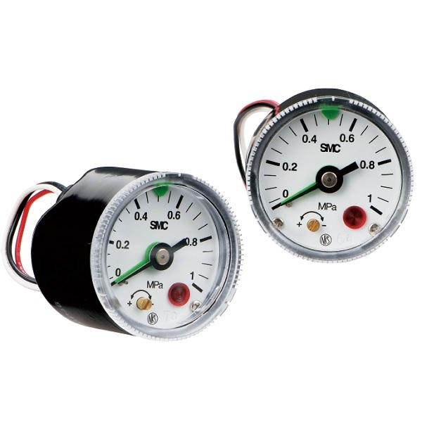 Pressure Gauge with Switch GP46