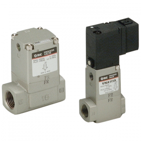 Process Valve/2 Port Valve (2 Way Valve) for Compressed Air and Air-hydro Circuit Control VNA