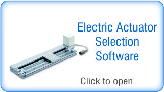 Electric Actuator Selection Software