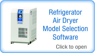 Refrigerated Air Dryer Model Selection Software