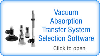 Vacuum adsorption transfer system selection software