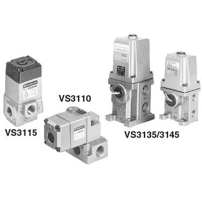 3 Port Direct Operated Solenoid Valve VS