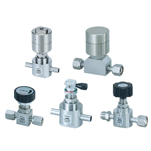 Diaphragm Valve for Ultra High Purity AP