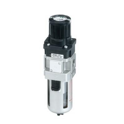 Filter Regulator with Built-in Pressure Gauge AWG